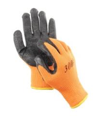 Перчатки акриловые с обливом