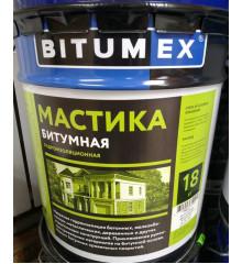 Мастика битумная BTUMEX (18кг)