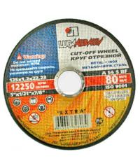 Диск отрезной металл (ЛУГА) 115мм