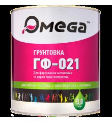 Грунт кр-коричневый ОМЕГА, 3 кг