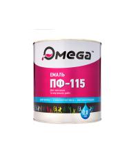 Эмаль темно-серая ОМЕГА, 2.8 кг